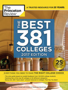 Best Colleges book cover