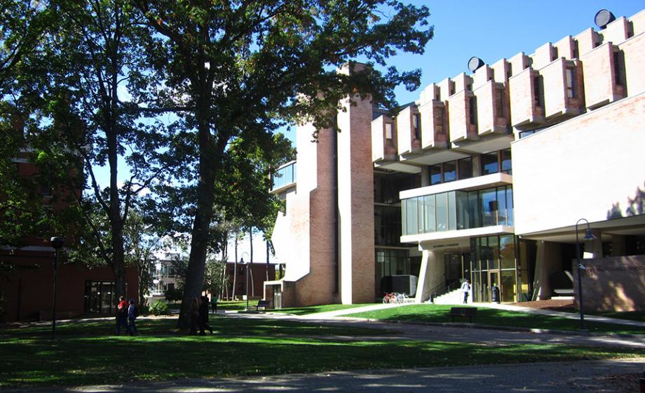 Clark University's library