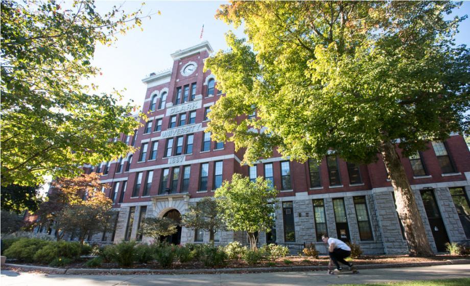 Jonas Clark Hall - Clark University