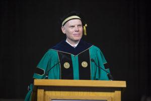 Clark University President David Angel