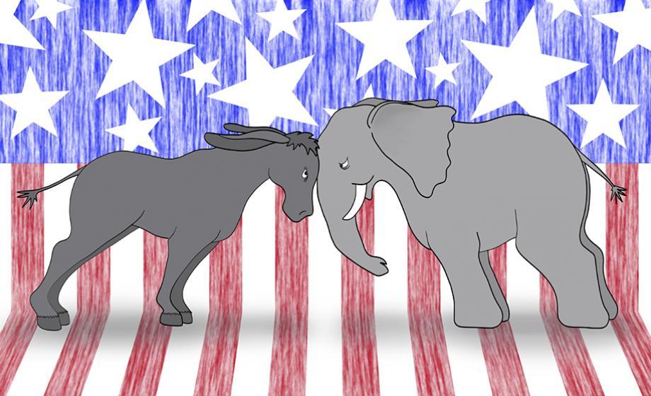 Clark University Harrington Lecture - election year politics are no party