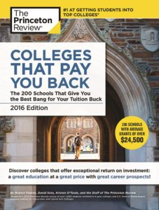 Colleges that pay you back book cover