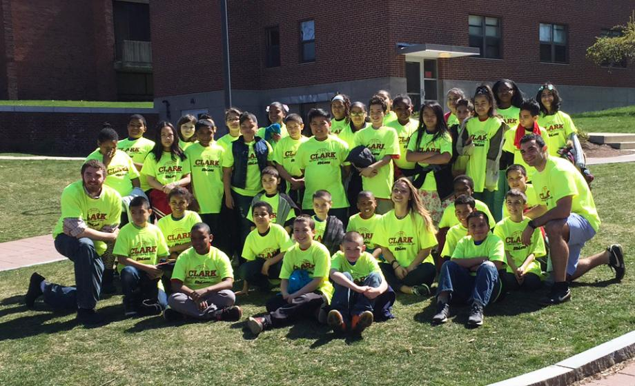Columbus Park students visit Clark University