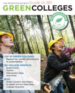 Princeton Review Guide to Green Colleges book cover