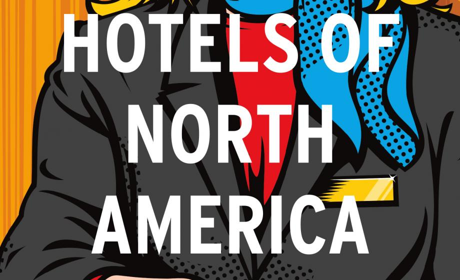 """""""Hotels of North America"""" book cover"""