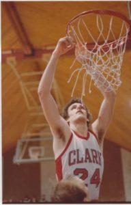 Jay Ash playing basketball