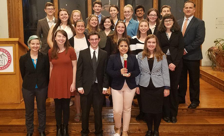 mock trial tournament Students