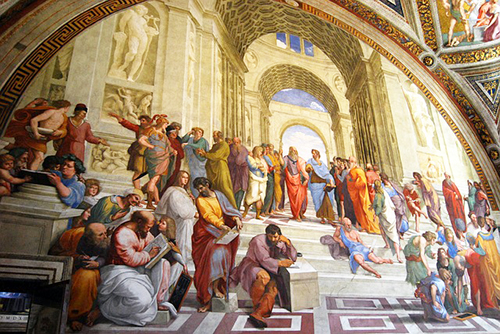 school-of-athens-painting-raphael-clark-university