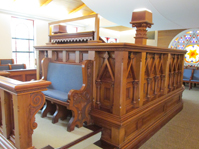 Fox also visited this synagogue in Christ Church, New Zealand