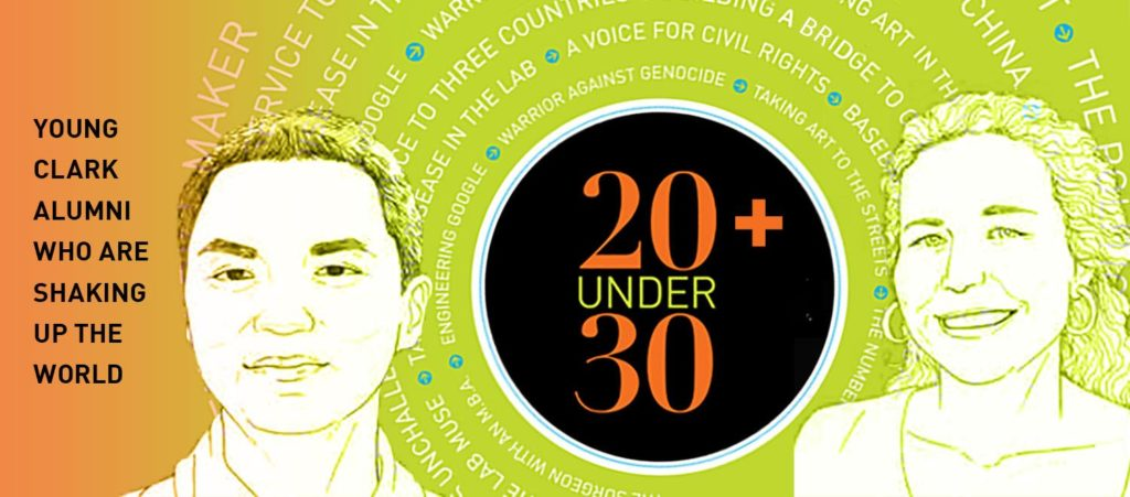 20 under 30 cover/photo