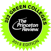 2013 green college logo