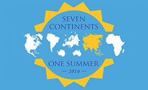 Seven Continents, One Summer 2016