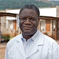 photo of Dr. Denis Mukwege