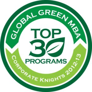 Global Green MBA print