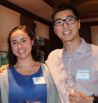 Dana and Yuanzheng photo
