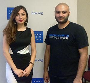 Dodi worked with Sarkis Balkhian '09 at Human Rights Watch.
