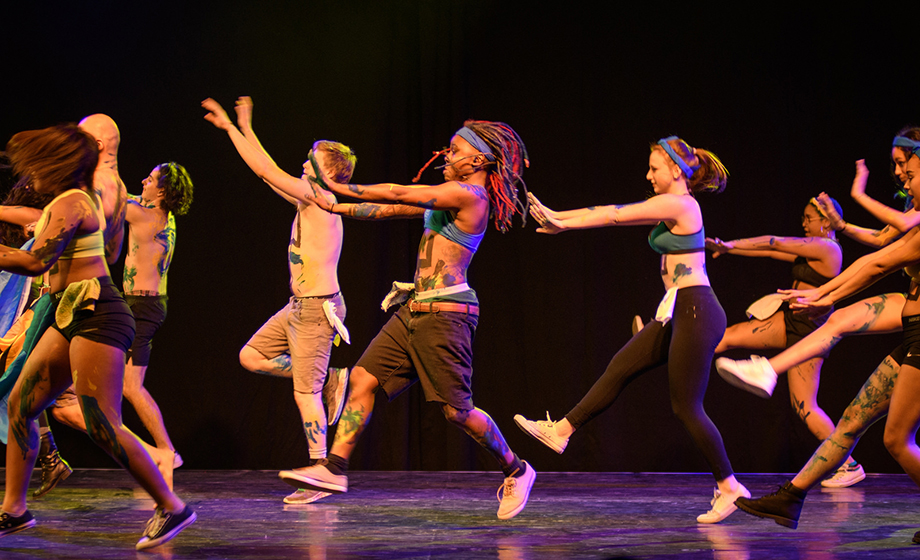 Dancers perform during International Gala