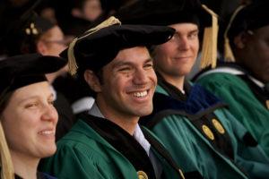 a happy graduate