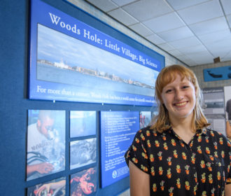 Jessica Strzempko at Woods Hole Oceanographic Institution