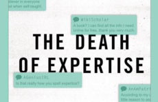 Death of Expertise book jacket