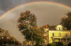 Rainbow over Anderson House
