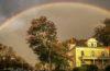 Rainbow over Anderson House