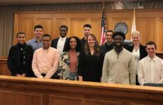 Clark students participate in Massachusetts juror training video