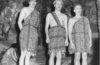 1958 Founder's Day skit with professors dressed as cavemen
