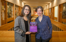 Doctoral candidate Melike Sayoglu and Professor Valerie Sperling,