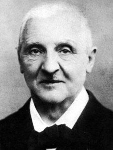 Portrait of Anton Bruckner from 1890