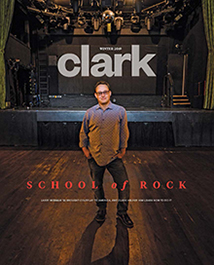 Clark magazine winter 2019 cover