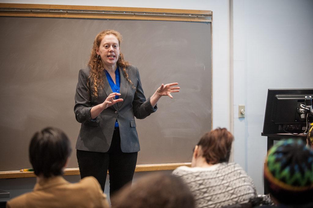 Ora Szekely teaches at Clark