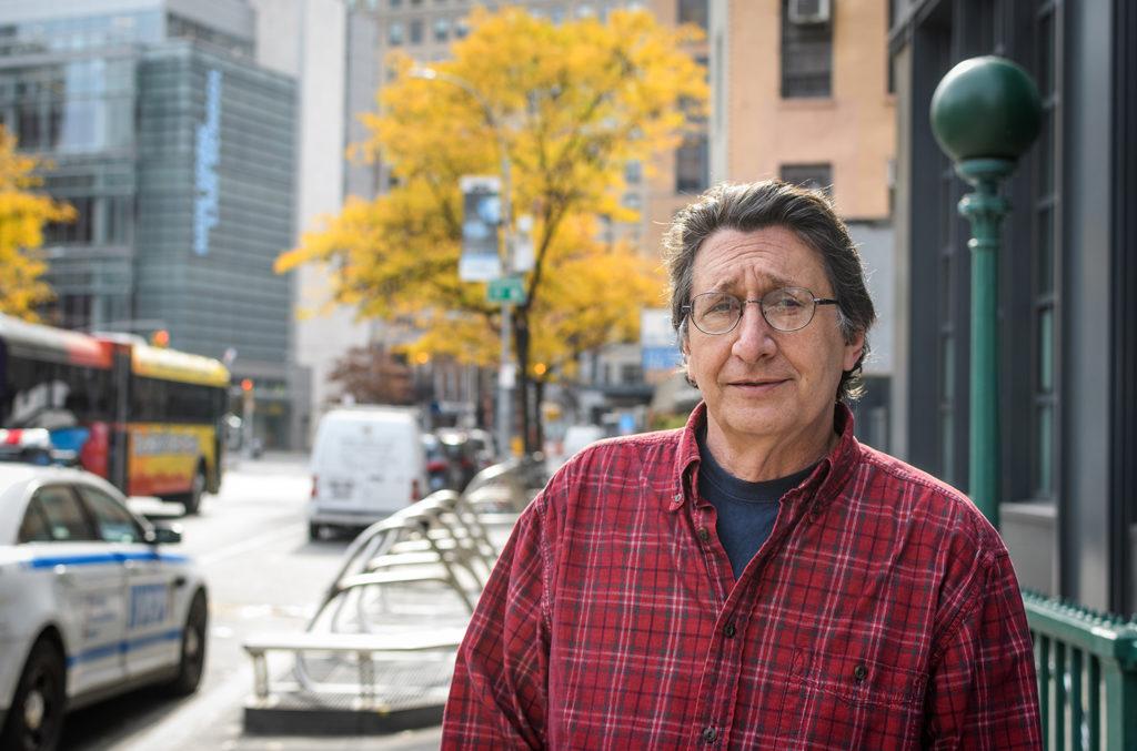 Steven DePaul in the Tribeca section of New York City