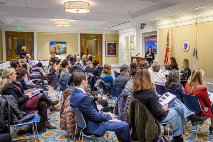 2019 Family Impact Seminar at the Massachusetts State House