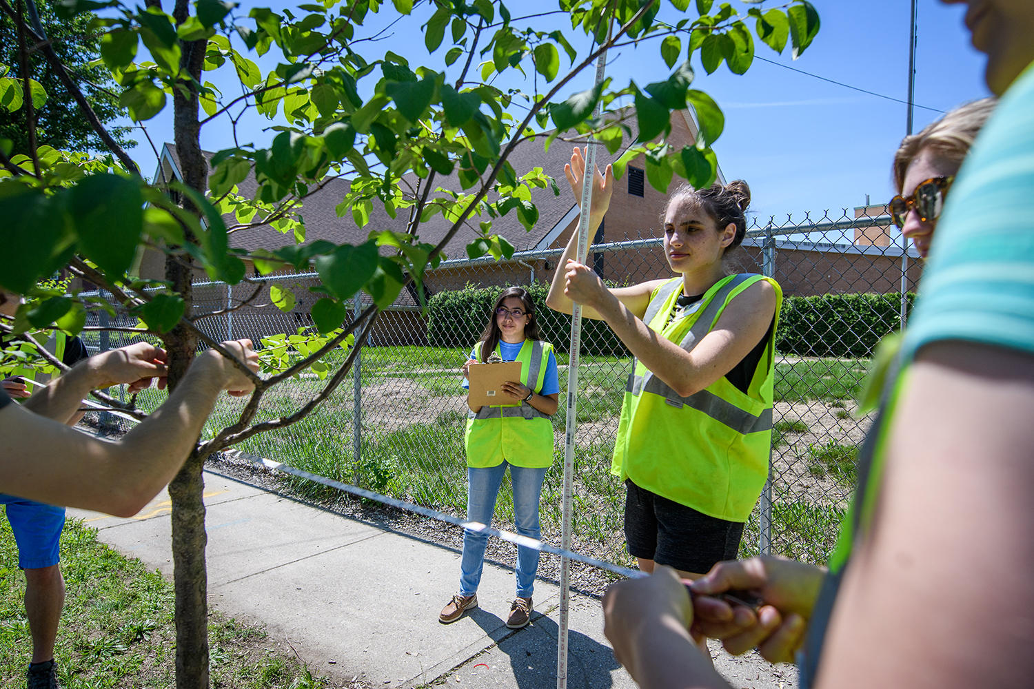 2018 HERO Fellows conduct research in Chicopee, MA