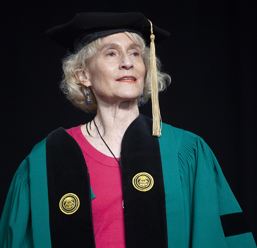 Martha Nussbaum receives honorary degree from Clark University