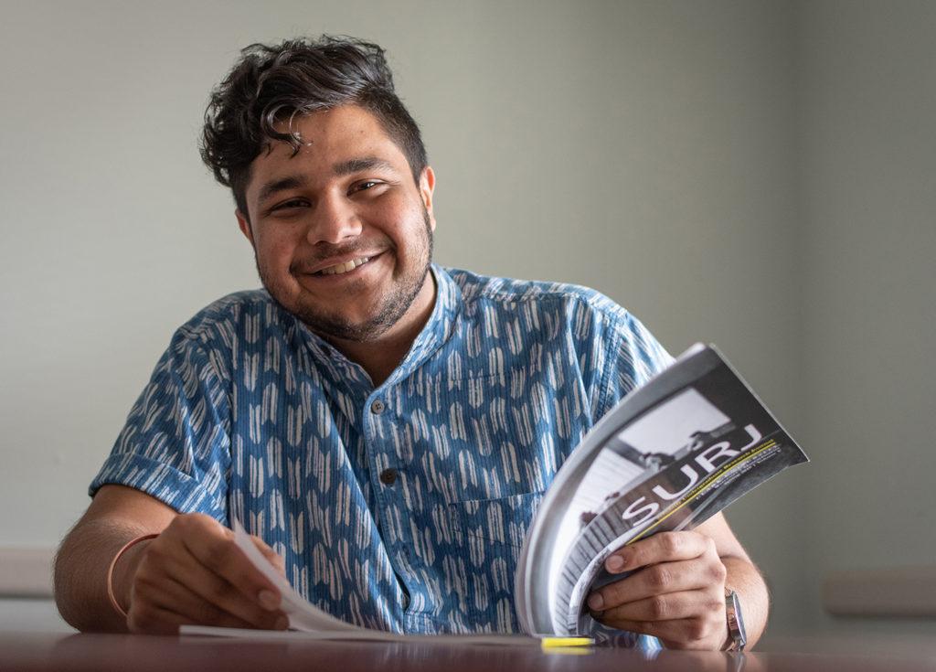 Ram Sharma '19 portrait