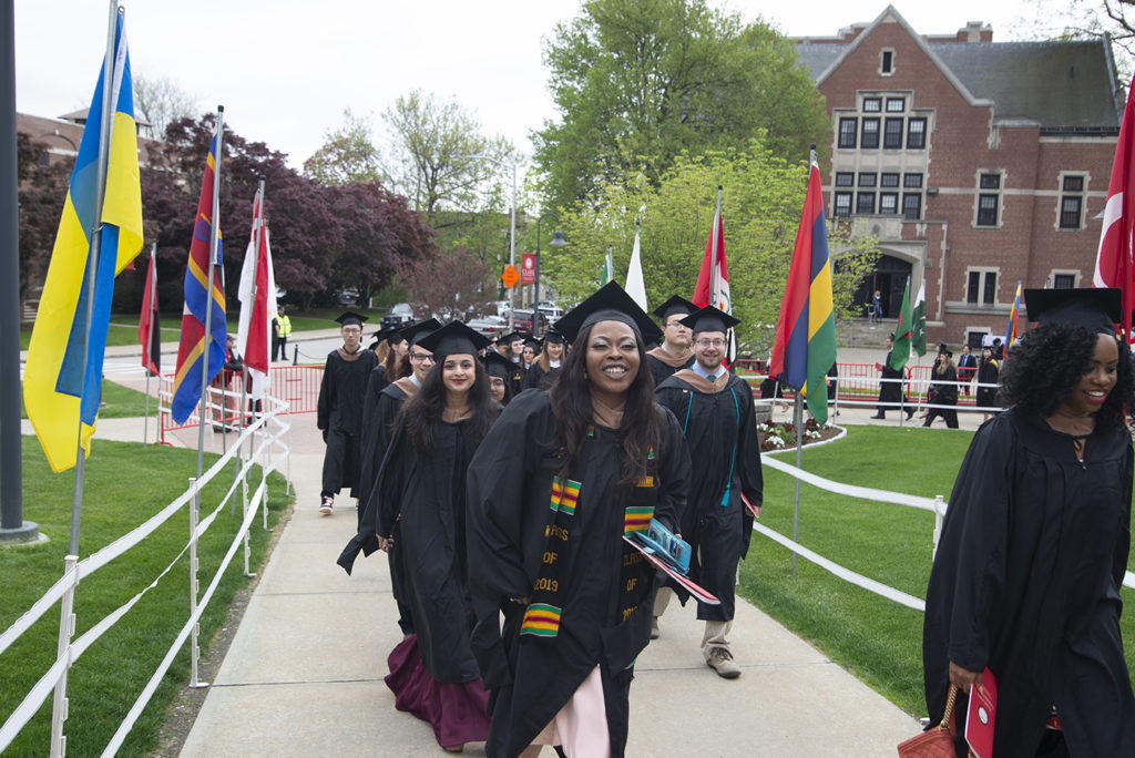 Clark University Graduate Commencement Ceremony