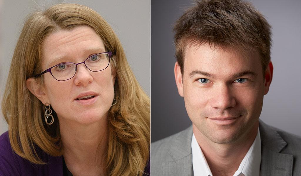 Kristina Wilson and John Aylward
