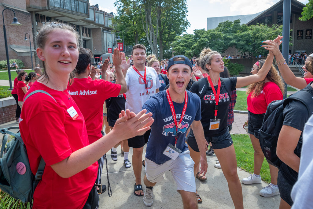 Clark University Class of 2023 on Move-In Day