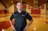 Tyler Simms in Kneller Athletic Center