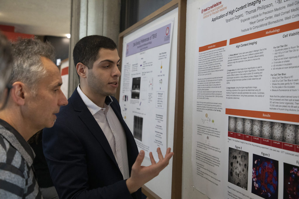 Student presents research at Fall Fest 2019