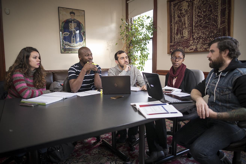 Clark graduate students