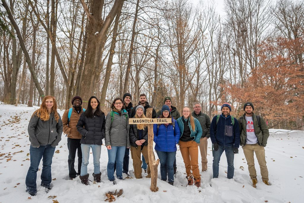 Urban Forestry Class at Hadwen Arboretum