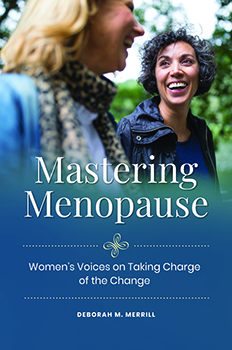 """""""Mastering Menopause"""" book cover"""