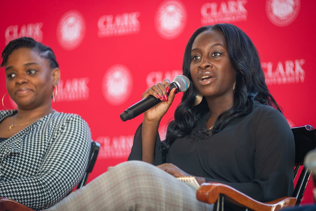 2020 Martin Luther King Day event at Clark University