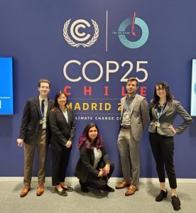 Clark graduate students at COP25