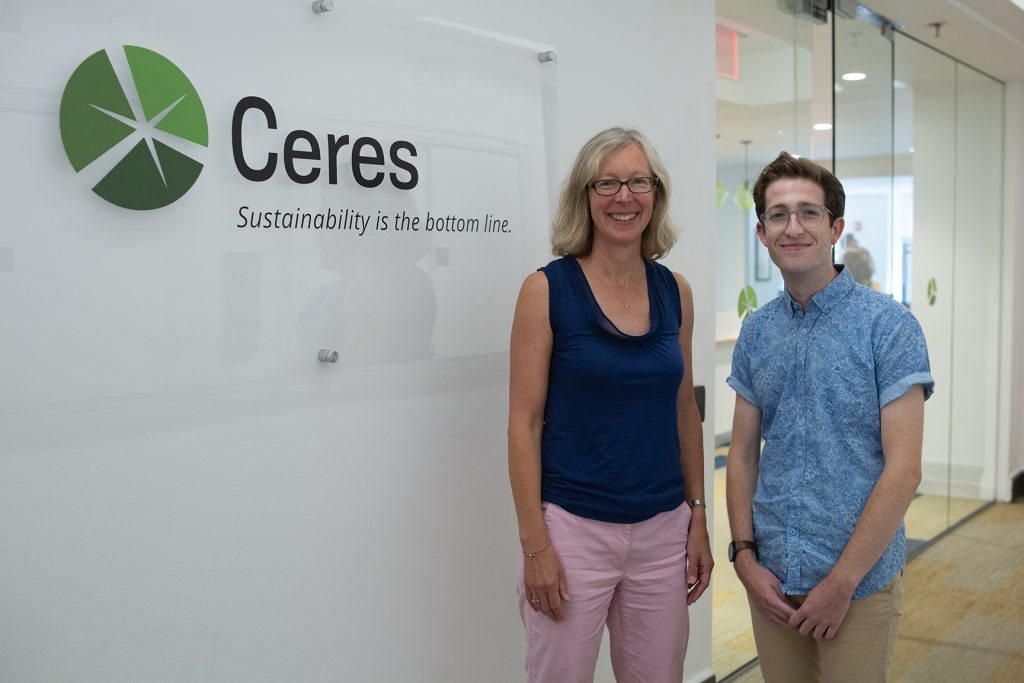 Isaac Stone '19 at Ceres