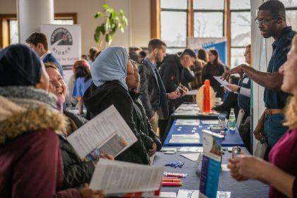 Employers at ClarkCONNECT Career Fair