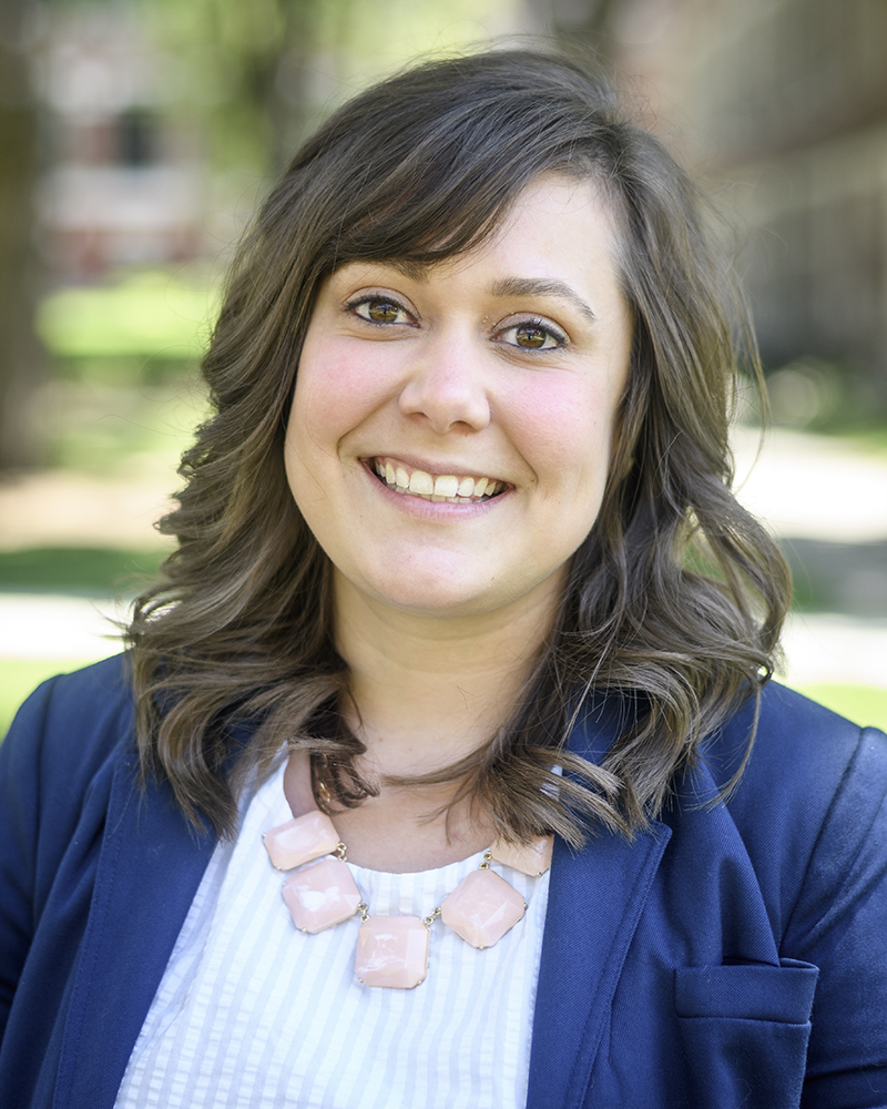 Allie Shilling, director of student life